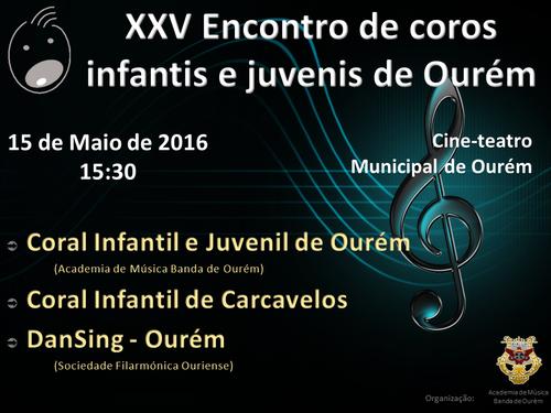 XXV Encontro de coros Ourém 2016