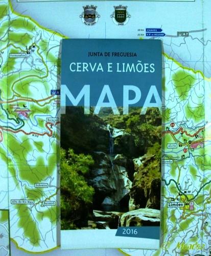 Vila de Cerva - Mapa Turístico