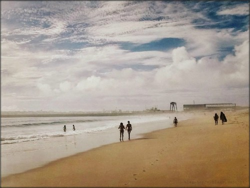 Verão - Praia de SuperTubos - Peniche