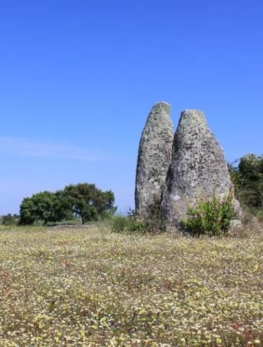 Anta do Galhardo, Castelo de Vide