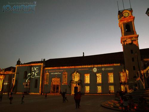 Espectáculo Video Mapping na Universidade de Coimbra UC 725 Anos - Uma História de Luz  (7)