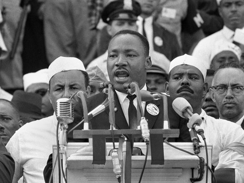 On August 28, 1963, Dr. Martin Luther King Jr., ad