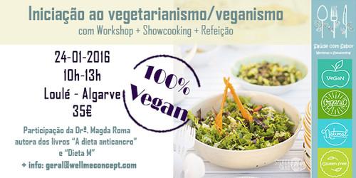 Loulé 24-01-2016 - iniciação ao vegetarianismo.