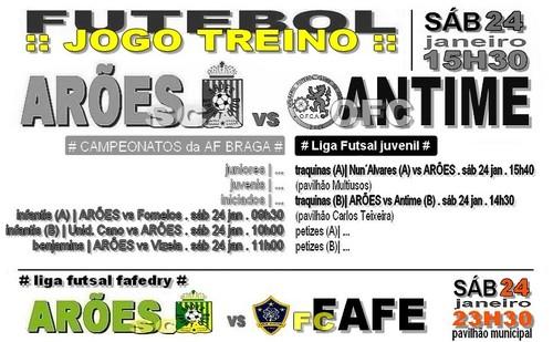 cartaz jog_treino ARÕES vs ANTIME 24 JAN 2015_2.j