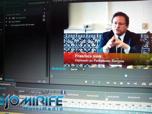 Gravação e Produção de vídeo com Francisco Assis, Deputado ao Parlamento Europeu, Presidente da Delegação para as Relações com o MERCOSUL, Membro da Comissão dos Assuntos Externos