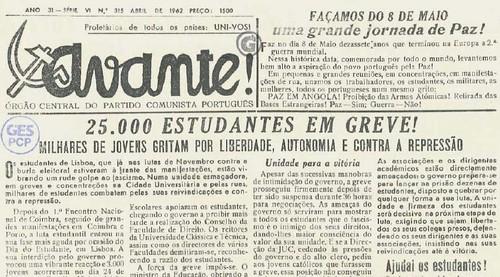 Avante dia_estudante1962