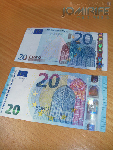 Nova nota de 20 euros [en] New 20 euro note