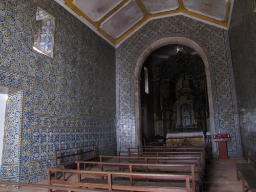 Revestimento cerâmico da Igreja de Nossa Senhora da Alegria, Castelo de Vide