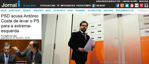 PSD Marco António sobre PS e Orçamento de Estado