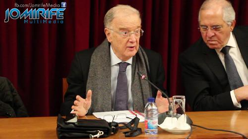 Jorge Sampaio em conferência em Coimbra
