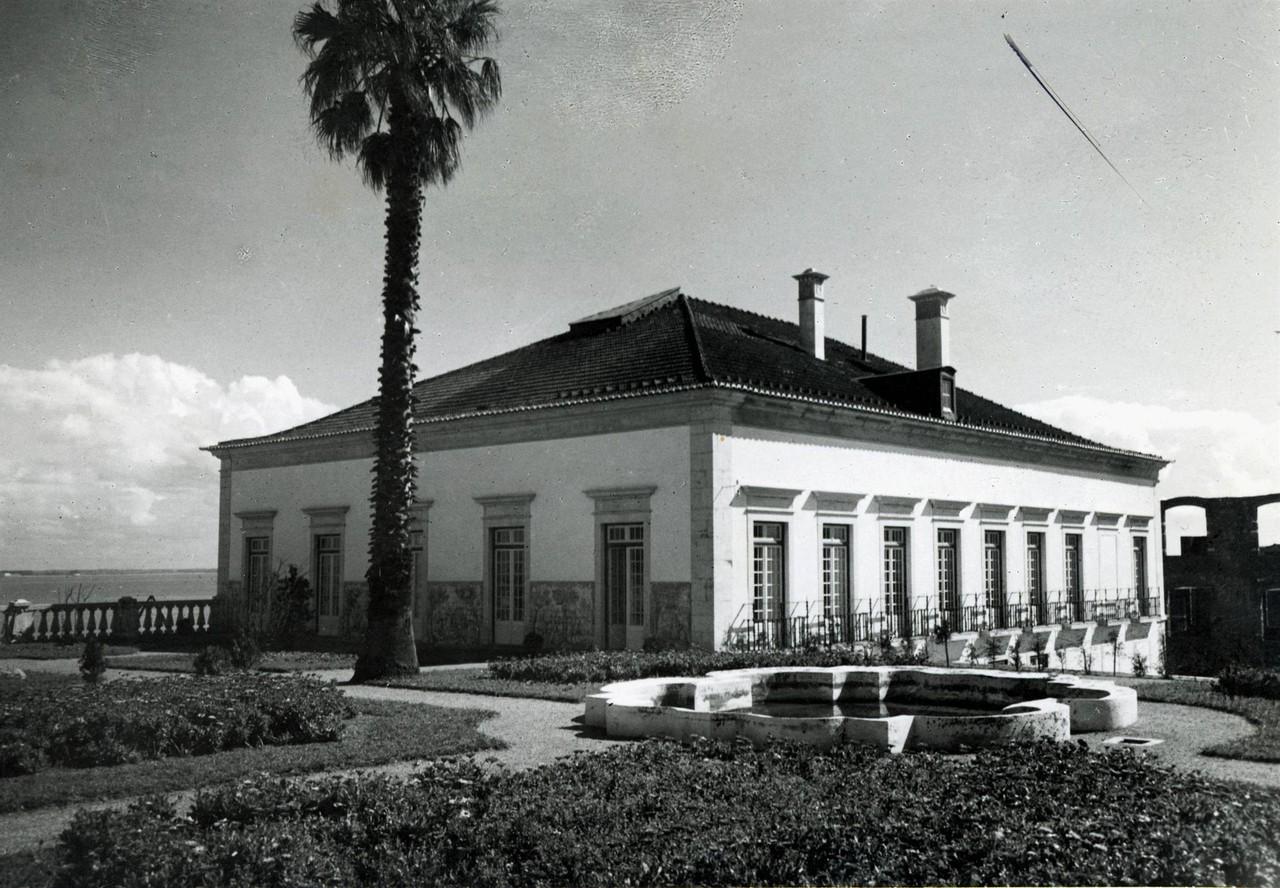 Palácio da Mitra, aspecto geral a partir do jardi