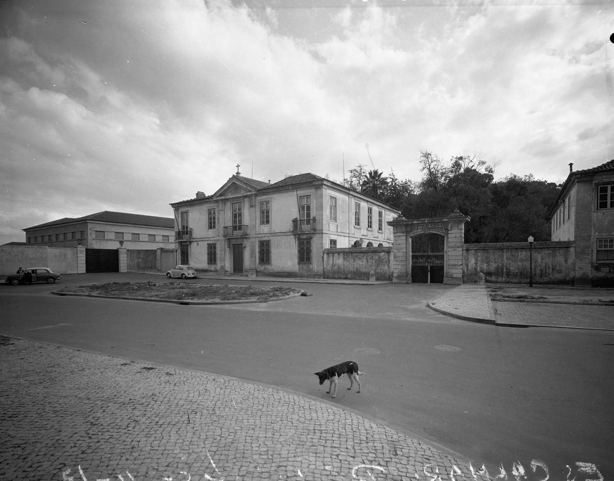 Palácio da Quinta de Alfarrobeira, 1968, foto de