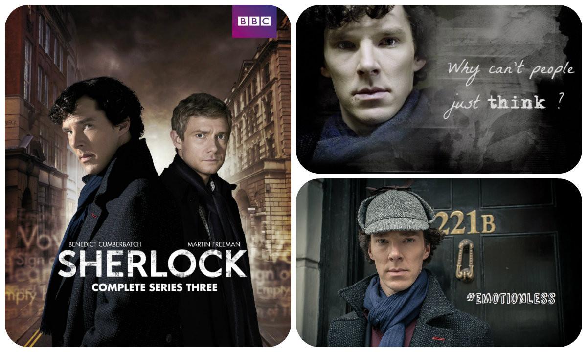 Sherlock - Série BBC | Maria das Palavras