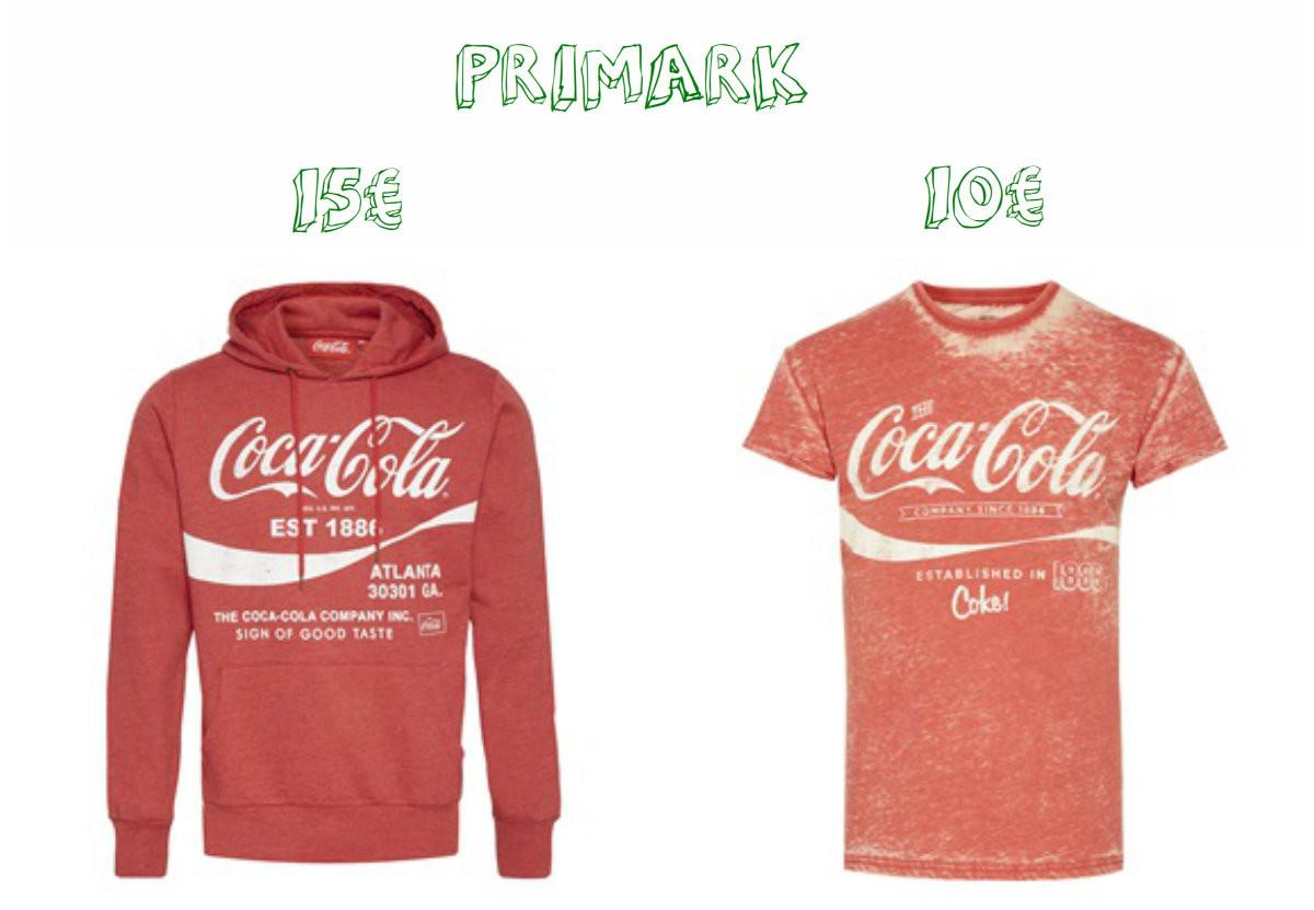 Vestuário Coca-Cola - Primark