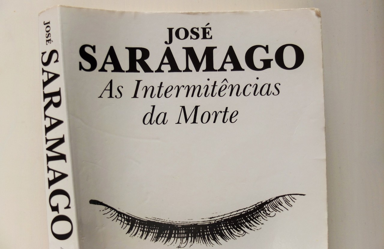 as intermitências da morte de José Saramago.JPG