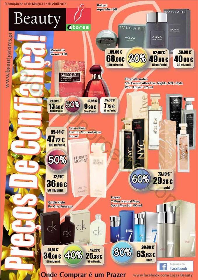 Novo Folheto BEAUTY STORES Promoções de 18 març