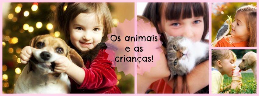 Os animais e as crianças