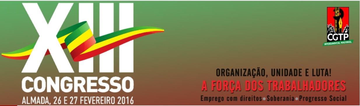 XIII Congresso CGTP