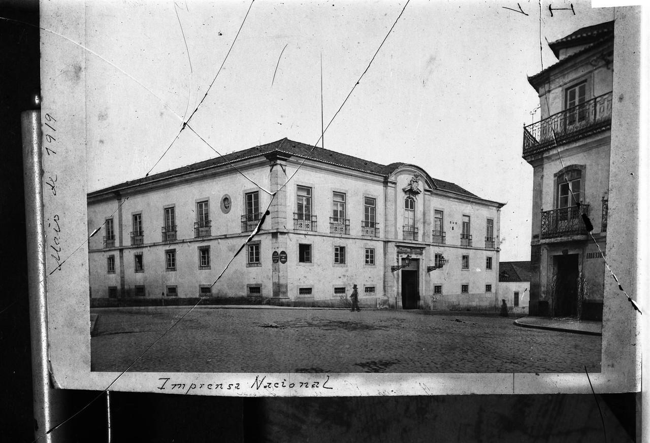 Palácio dos Soares de Noronha, antigo edifício d