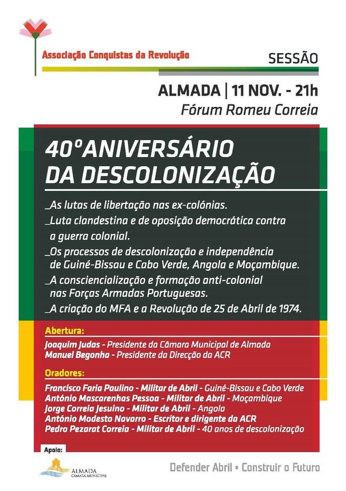 40 anos descolonização