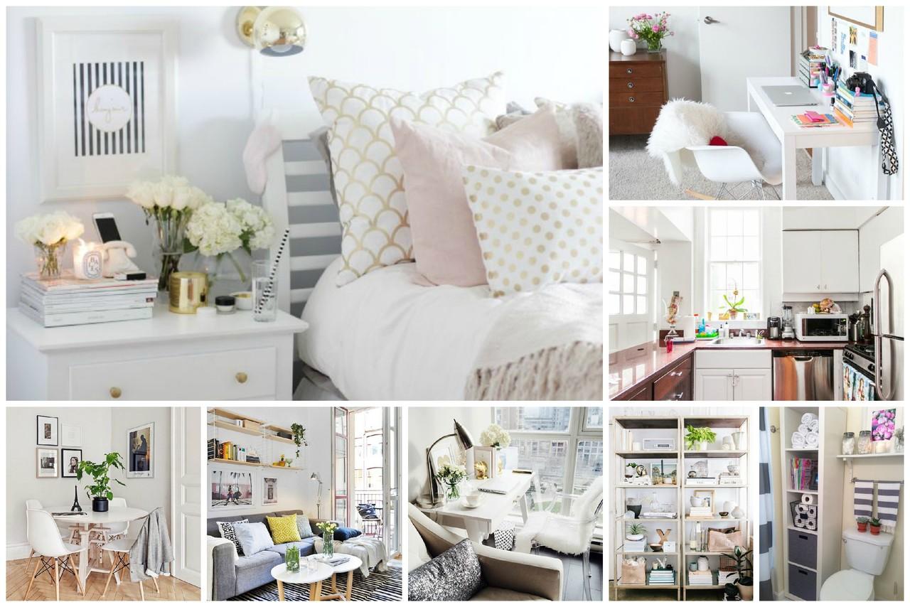 Como decorar e arrumar uma casa pequena moda e beleza - Decorar casa pequena ...