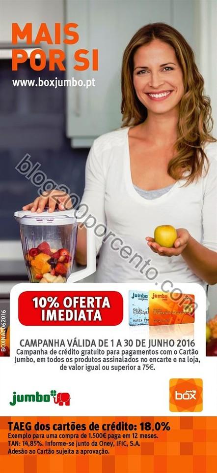 Antevisão Folheto JUMBO - BOX Promoções Extra d