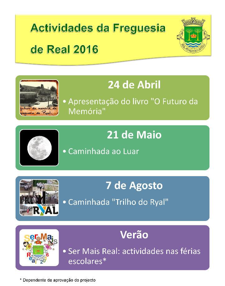 Actividades Real 2016