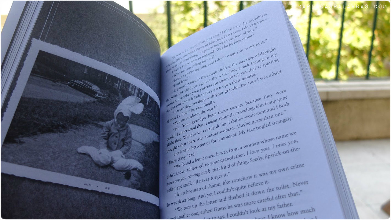 Miss Peregrine's Home for Peculiar Children | O Livro (foto)
