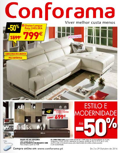 Folheto cat logo conforama novidades campanhas 2 de - Catalogo de conforama ...