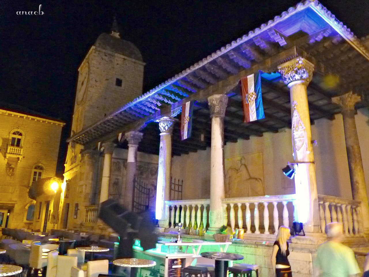 Trogir- Loggia and Clock Tower - viajarporquesim.b