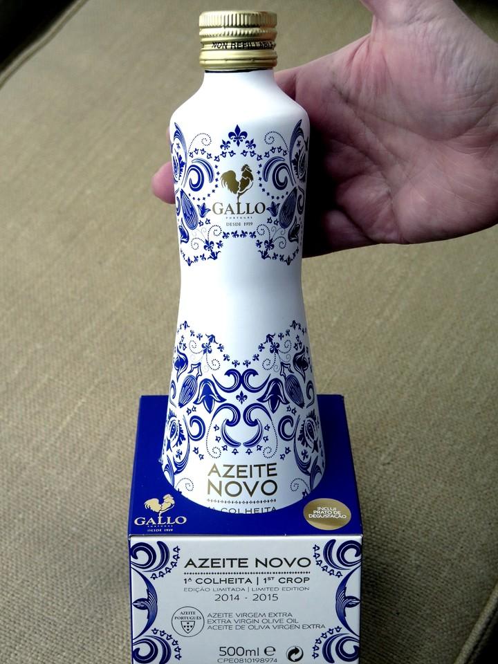 o azeite das primeiras azeitonas do ano