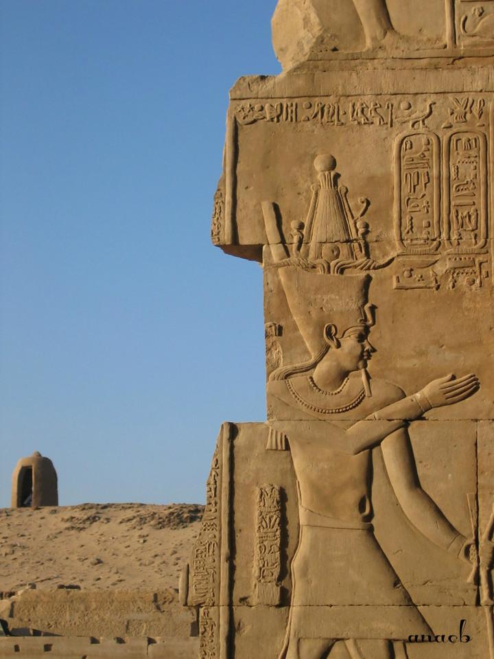 ao acaso #17 Templo de Kom Ombo, no Egipto.JPG