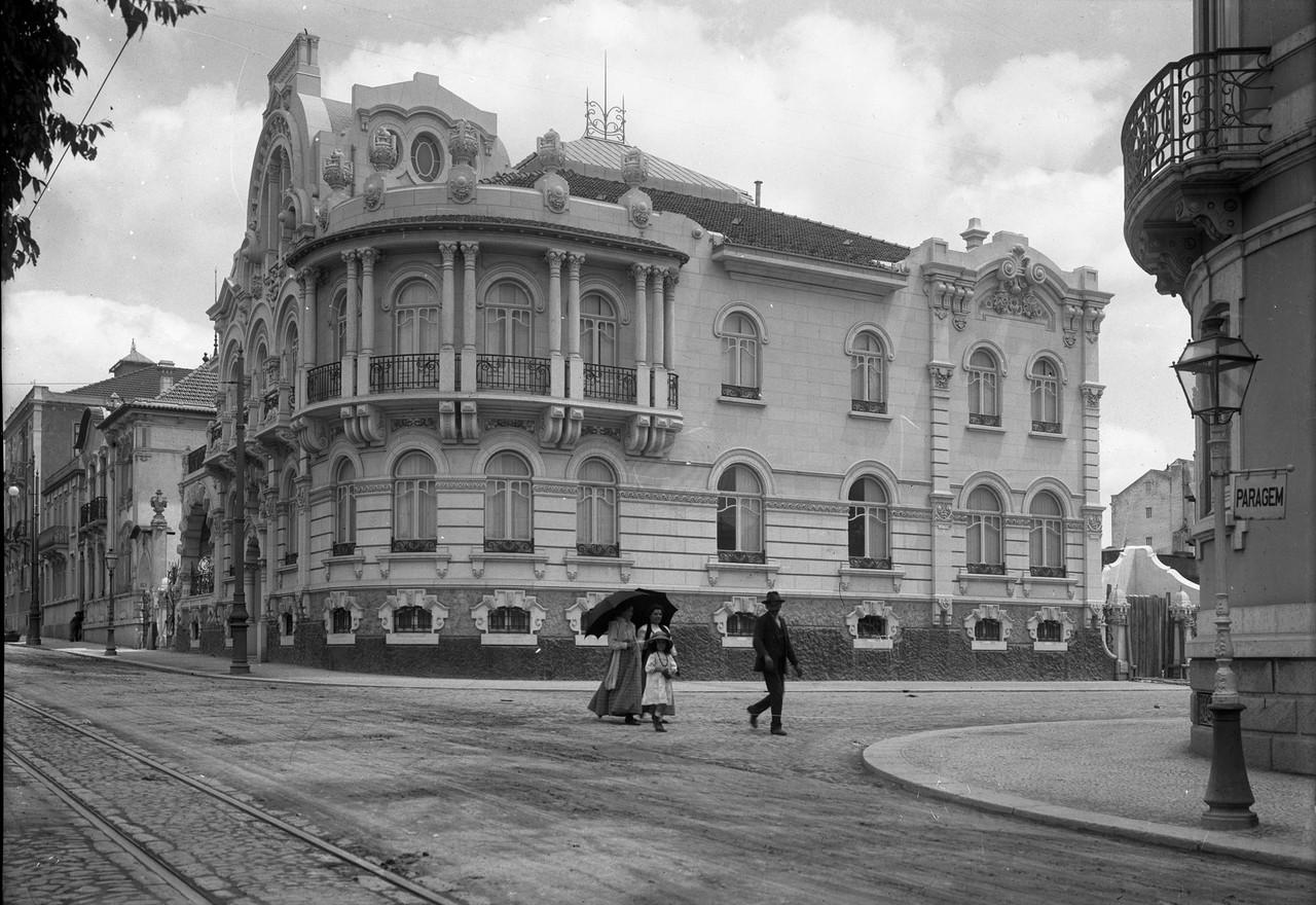 Prémio Valmor 1914, Av. Fontes Pereira de Melo (P. Guedes, c. 1914)