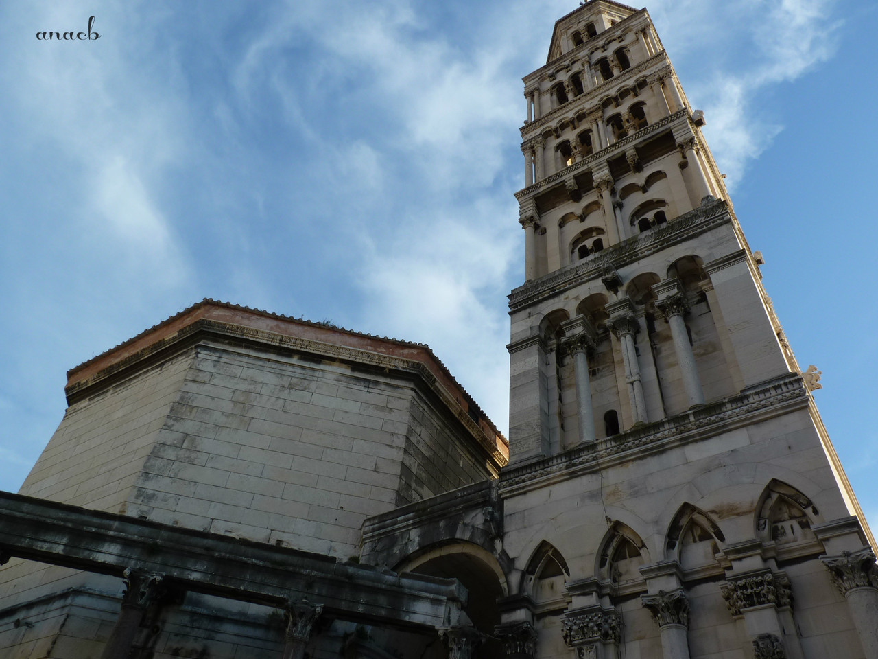 Croácia-Split-Torre e Catedral 2.jpg