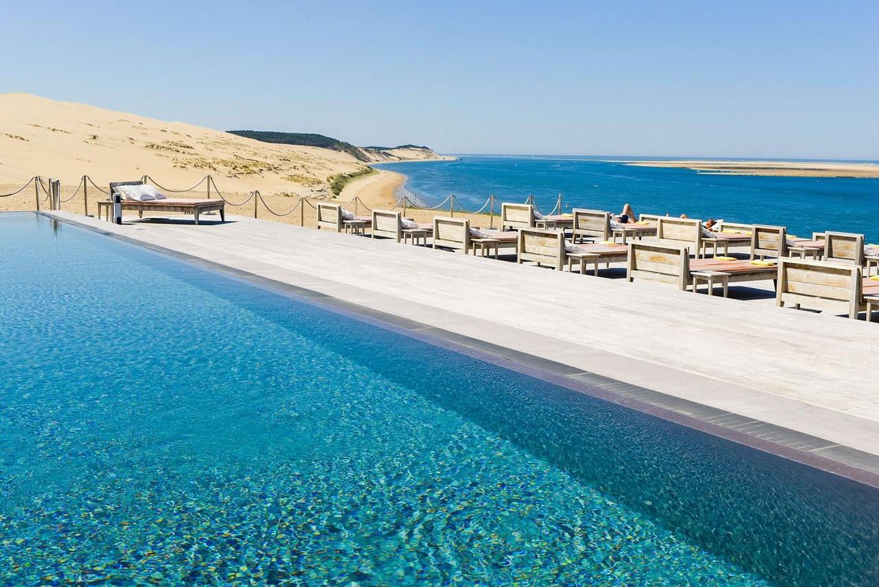 Os 5 melhores hot is de praia na europa todos de charme claro e um fica em - Hotel la corniche pilat ...