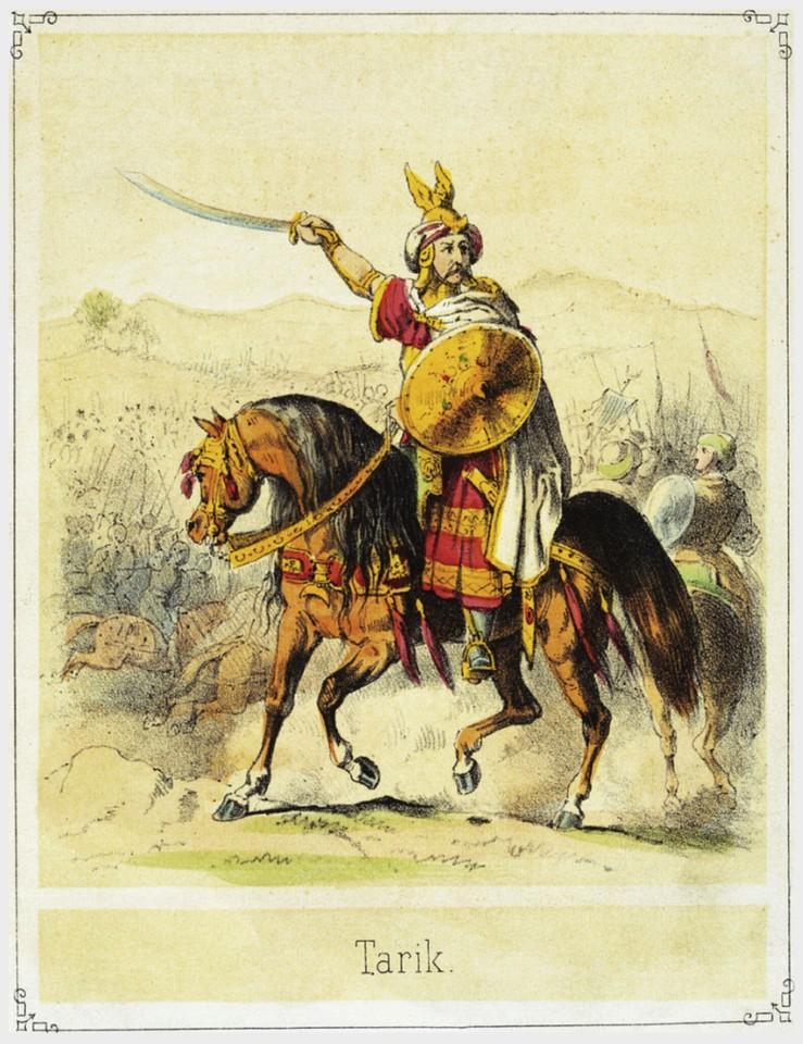 Tárique ibne Ziade (T. Hosemann, séc. XIX)