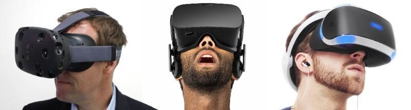 Os 3 da Realidade Virtual