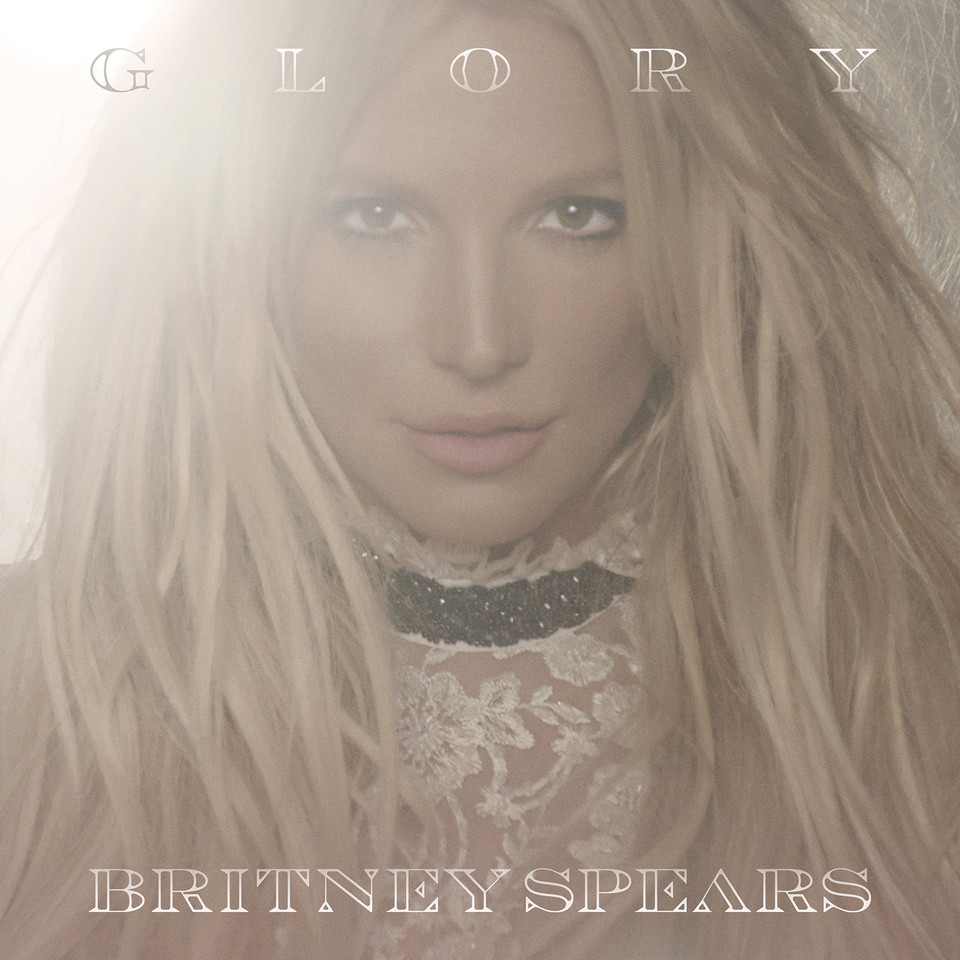 GLORY_Britney Spears_album cover - BRITNEY SPEARS.