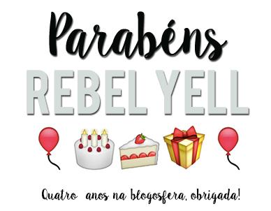 Parabéns Rebel Yell!