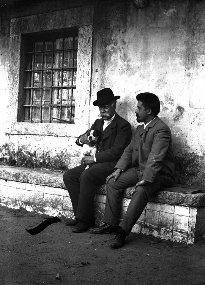 Júlio de Castilho e José Artur Leitão Bárcia.j