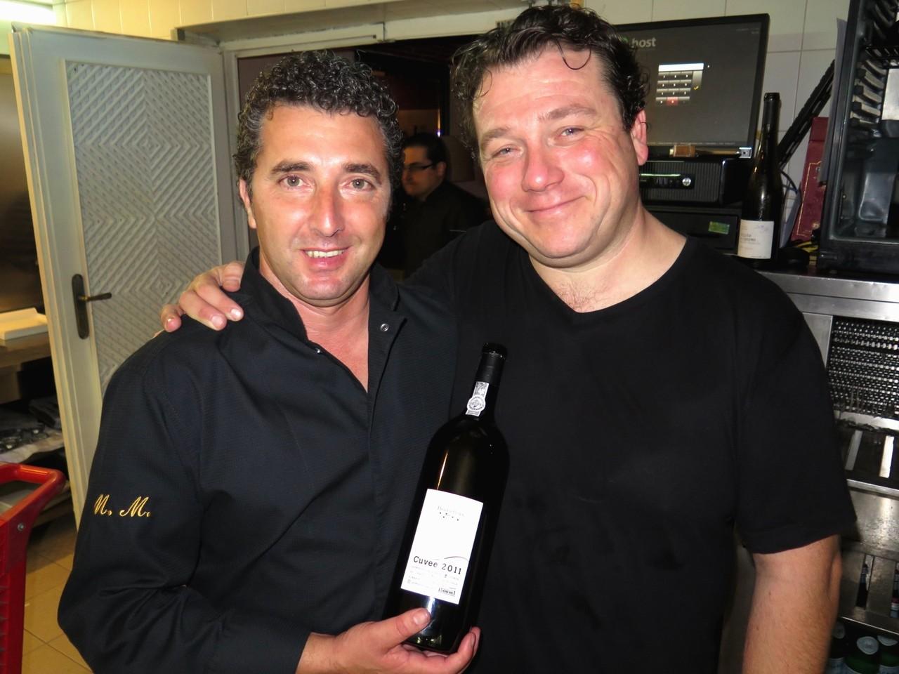 Hermínio Sanona e Arnaud Vallet