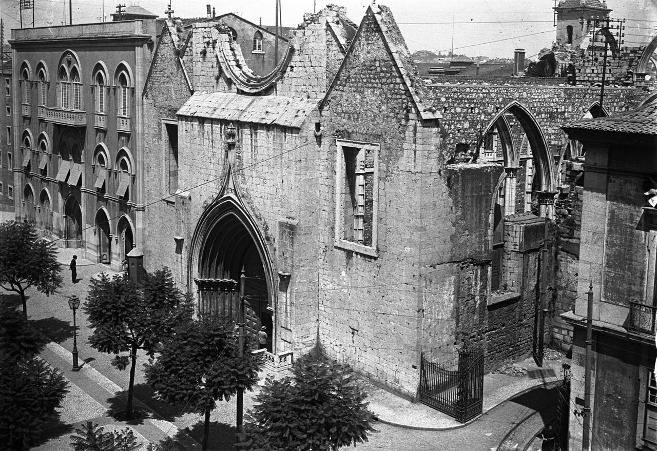 Convento do Carmo, fachada principal, foto de Ferr
