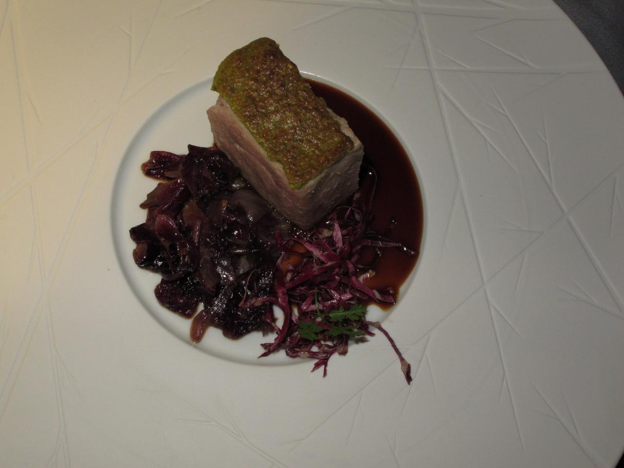 Um prato do LA PERGOLA