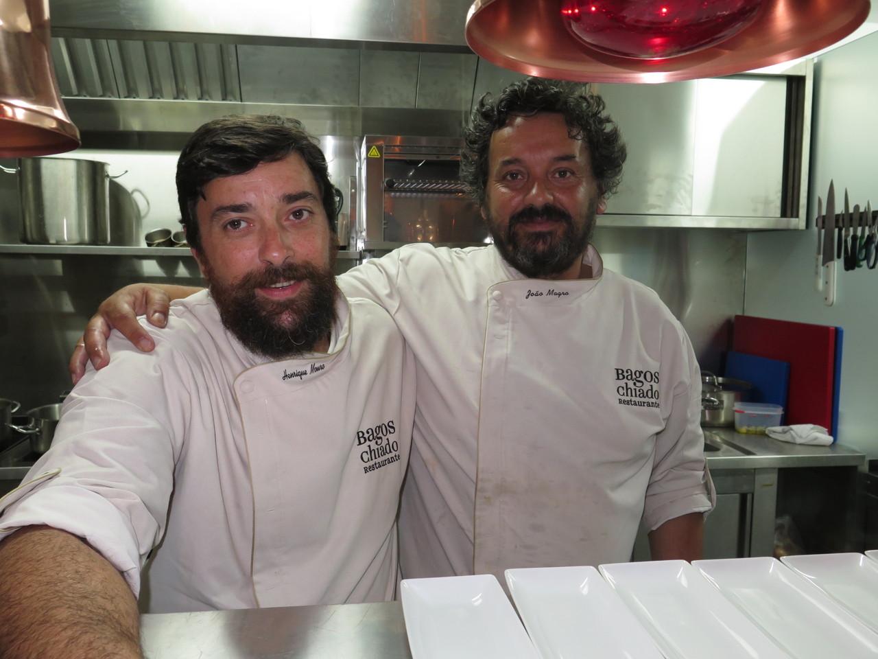 Henrique Mouro e João Magro
