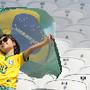 Adepta brasileira nos Jogos