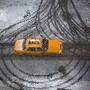 Neve em Brooklyn, Nova Iorque, EUA