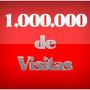1 milhao de visitas