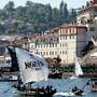 Portugal Regata De Barcos Rabelo