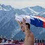 Não há frio nos jogos olímpicos de inverno