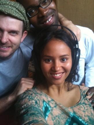 Gravaçao duo com Tigana Santana